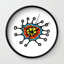 Eye Germ Wall Clock