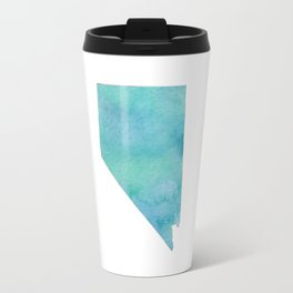 Watercolor Nevada Travel Mug