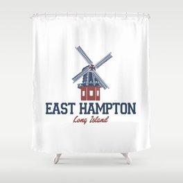 East Hampton - Long Island. Shower Curtain