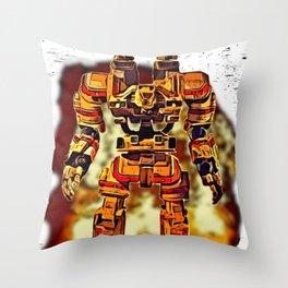 Robot Jox Throw Pillow