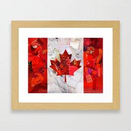 Oh Canada! Framed Art Print