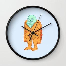 Skinned Two Wall Clock