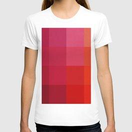 Abstraction_PIXELS_COLOR T-shirt