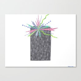 Dance Party, Tenement Housing Canvas Print