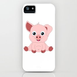 Year of the Pig Piggy Piglet Lover Luck Gift iPhone Case