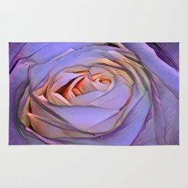 Violet rose Rug