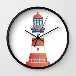 nautical lighthouse Wall Clock