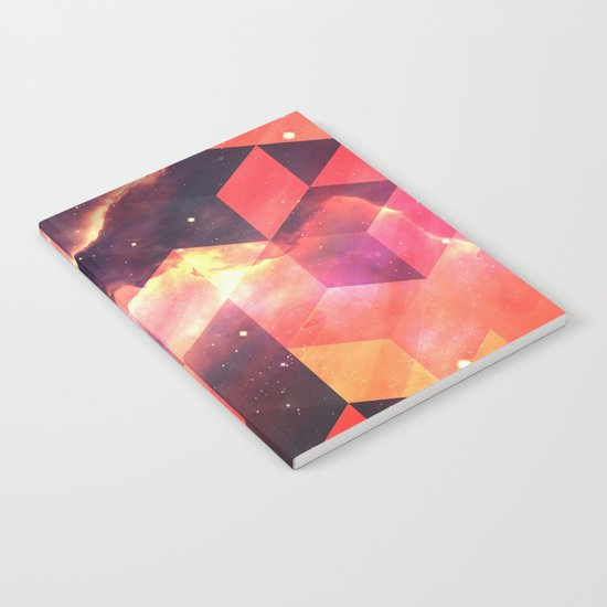 Geometric Fire Notebook