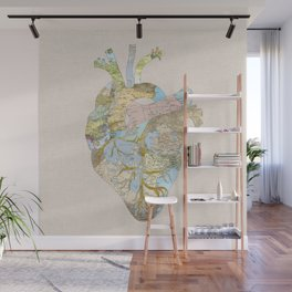 A Traveler's Heart (N.T) Wall Mural