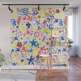 Autumm´s flowers Wall Mural