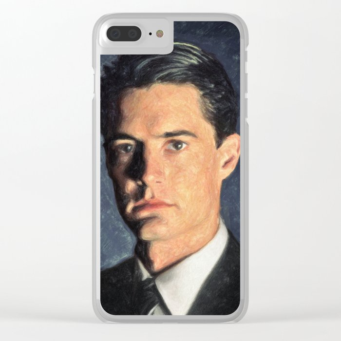 Agent Cooper Clear iPhone Case