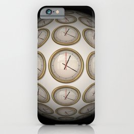 Time Time Time iPhone Case