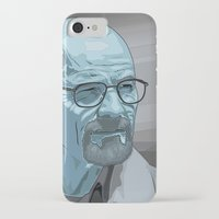 walter white iPhone & iPod Cases featuring Walter by Digital Sketch