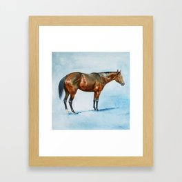 IN DUE COURSE Framed Art Print