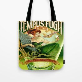 Vintage poster - Tempus Fugit Absinthe Tote Bag