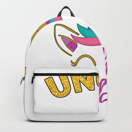 Uncle of the Unicorn Birthday Girl Backpack