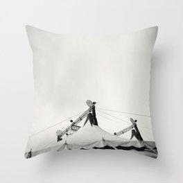 The Circus Throw Pillow