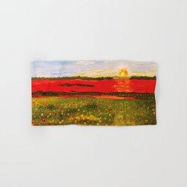 Poppy's At Sunset Hand & Bath Towel