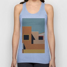 Summer Urban Landscape Unisex Tank Top