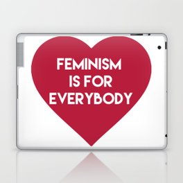 Feminism is for Everybody Laptop & iPad Skin