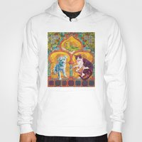 golden girls Hoodies featuring Golden Temple of the Good Girls by Susan Carlson