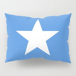 Somalian national flag - Authentic color and scale (high quality file) Pillow Sham