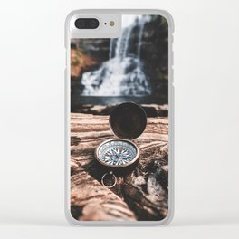 Your my Compass Clear iPhone Case