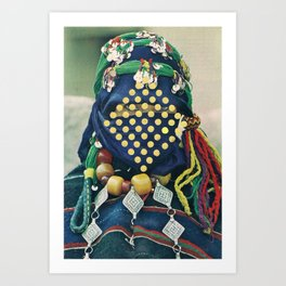 Dotted Tribe Art Print