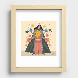 Hold Me Tight So I Can Shine Brighter  Recessed Framed Print