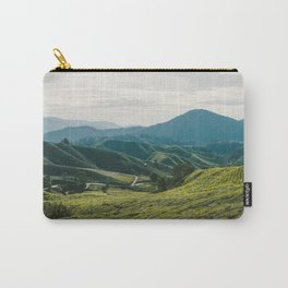 Tea Fields Carry-All Pouch