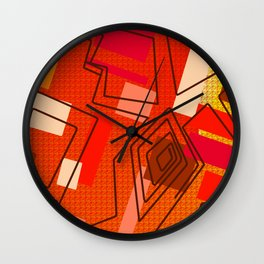 The Hat Dance Wall Clock