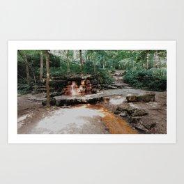 springs in ohio Art Print