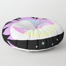 Pastel Cyclops Floor Pillow