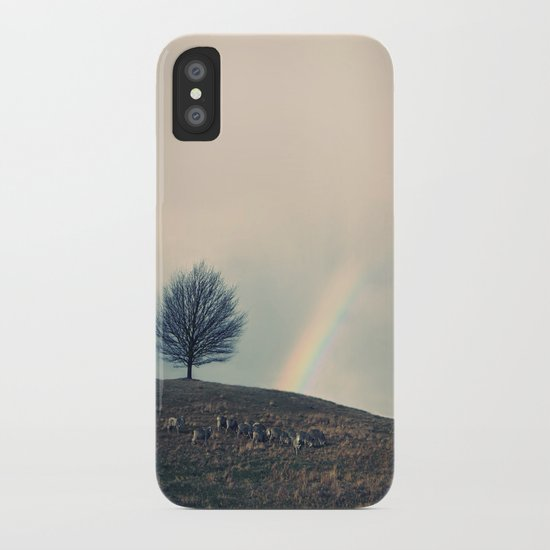 Chasing rainbows and counting sheep. Same thing really. iPhone Case