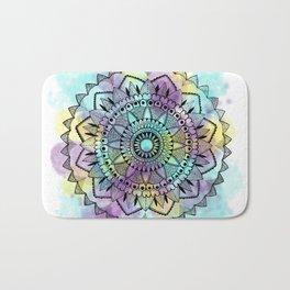 Colourwash Mandala Bath Mat
