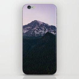 Mount Rainier Wanderlust - Pacific Northwest Mountain Adventure iPhone Skin