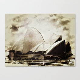 Sydney Opera House  Collection I Canvas Print