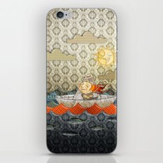 paper boat iPhone & iPod Skin