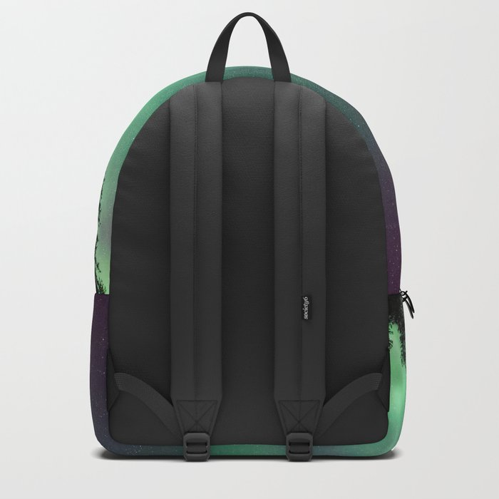Colorful Northern Lights, Aurora Borealis Backpack