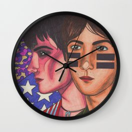 No Surface, All Feeling Wall Clock