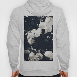 High Contrast Black and White Snowballs II Hoody