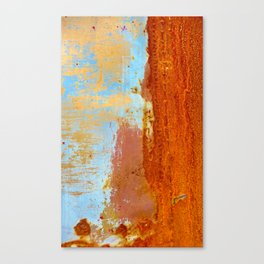 Gold & Rust Canvas Print