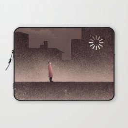 Waiting for the Sun Laptop Sleeve