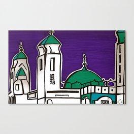 La Grande Mosquee Canvas Print