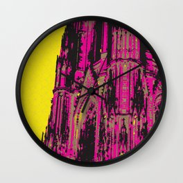 Cologne Cathedral Wall Clock