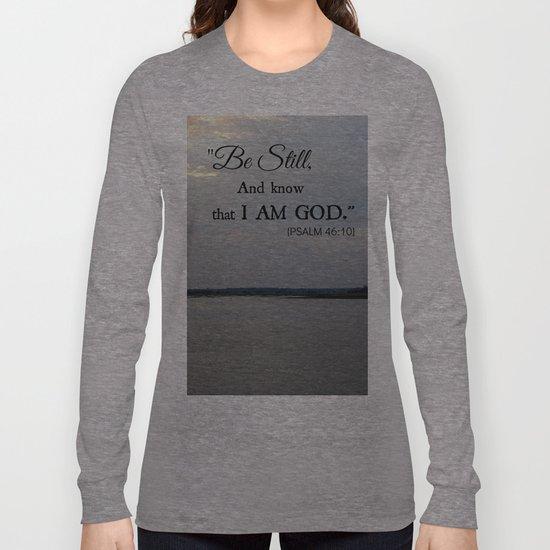 Hilton Head Island, Scripture Long Sleeve T-shirt