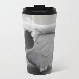 Charcoal Skull Travel Mug