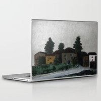 hamlet Laptop & iPad Skins featuring the hamlet by Maria Julia Bastias