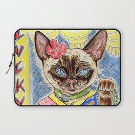 Lucky Cat Laptop Sleeve