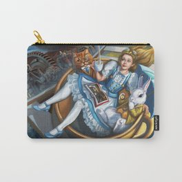 Steampunk Alice in Wonderland Teacups Carry-All Pouch